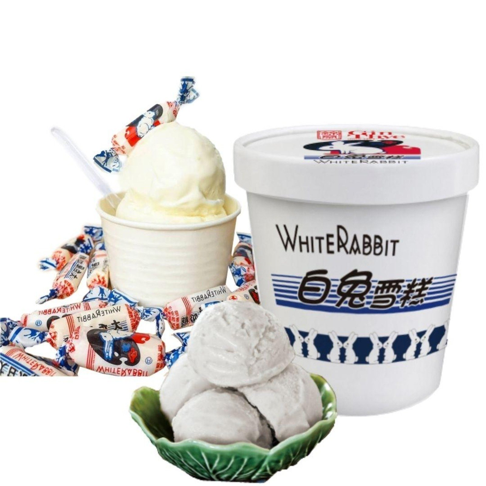white rabbit ice cream