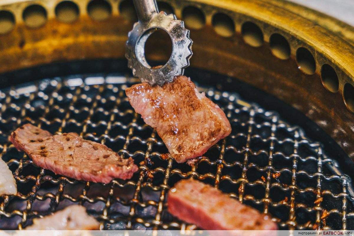 grilled wagyu
