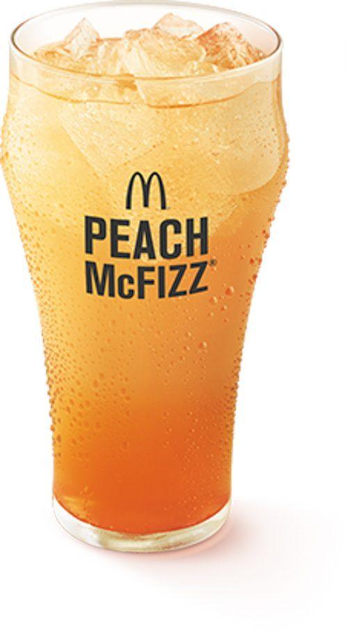 MCDONALDS PROSPERITY PEACH MCFIZZ
