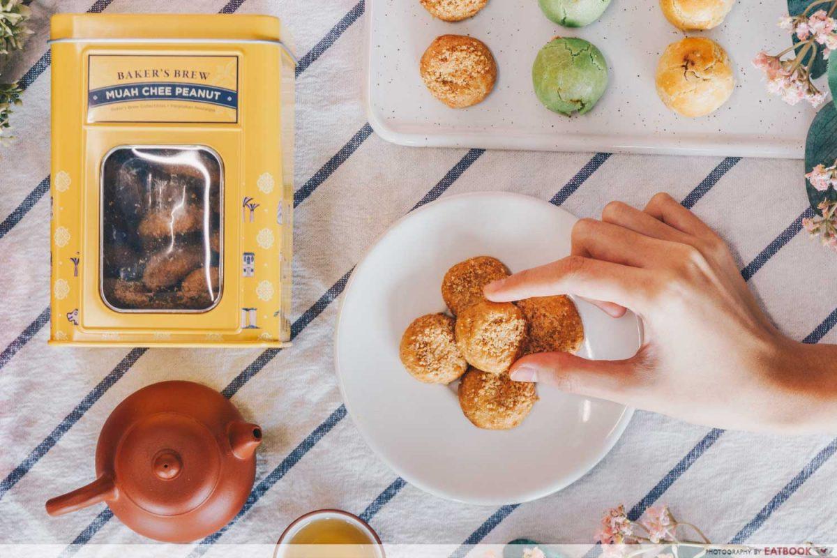 muah chee cookies bakers brew cny