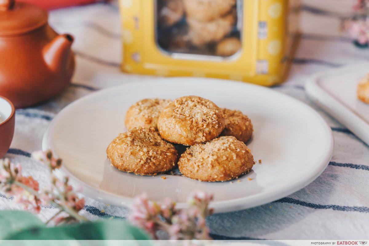 baker's brew cny muah chee cookies