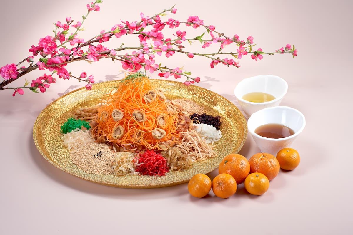 peach garden yusheng reunion dinner