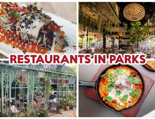 restaurants in parks