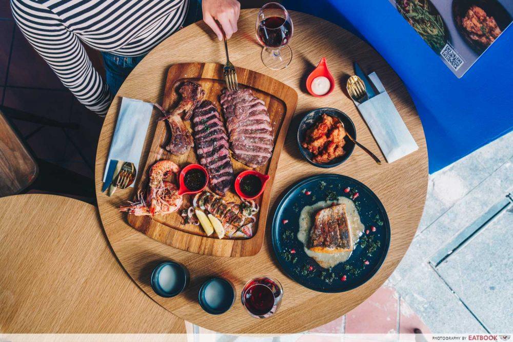sharing platters zodiac telok ayer