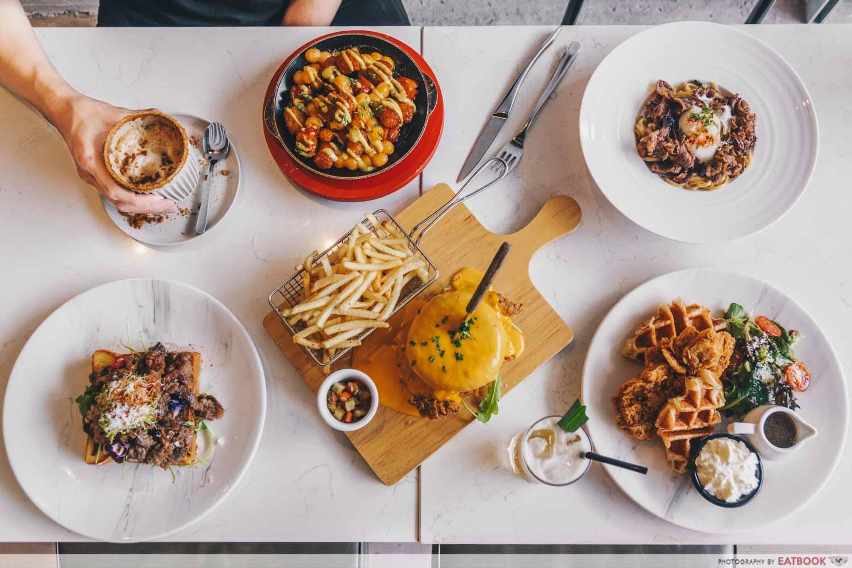 Chir Cafe + Bar - flatlay