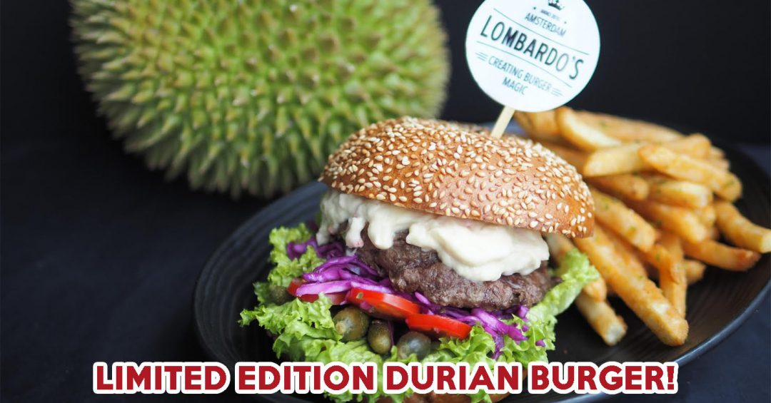 DURIAN BURGER COVER IMAGE