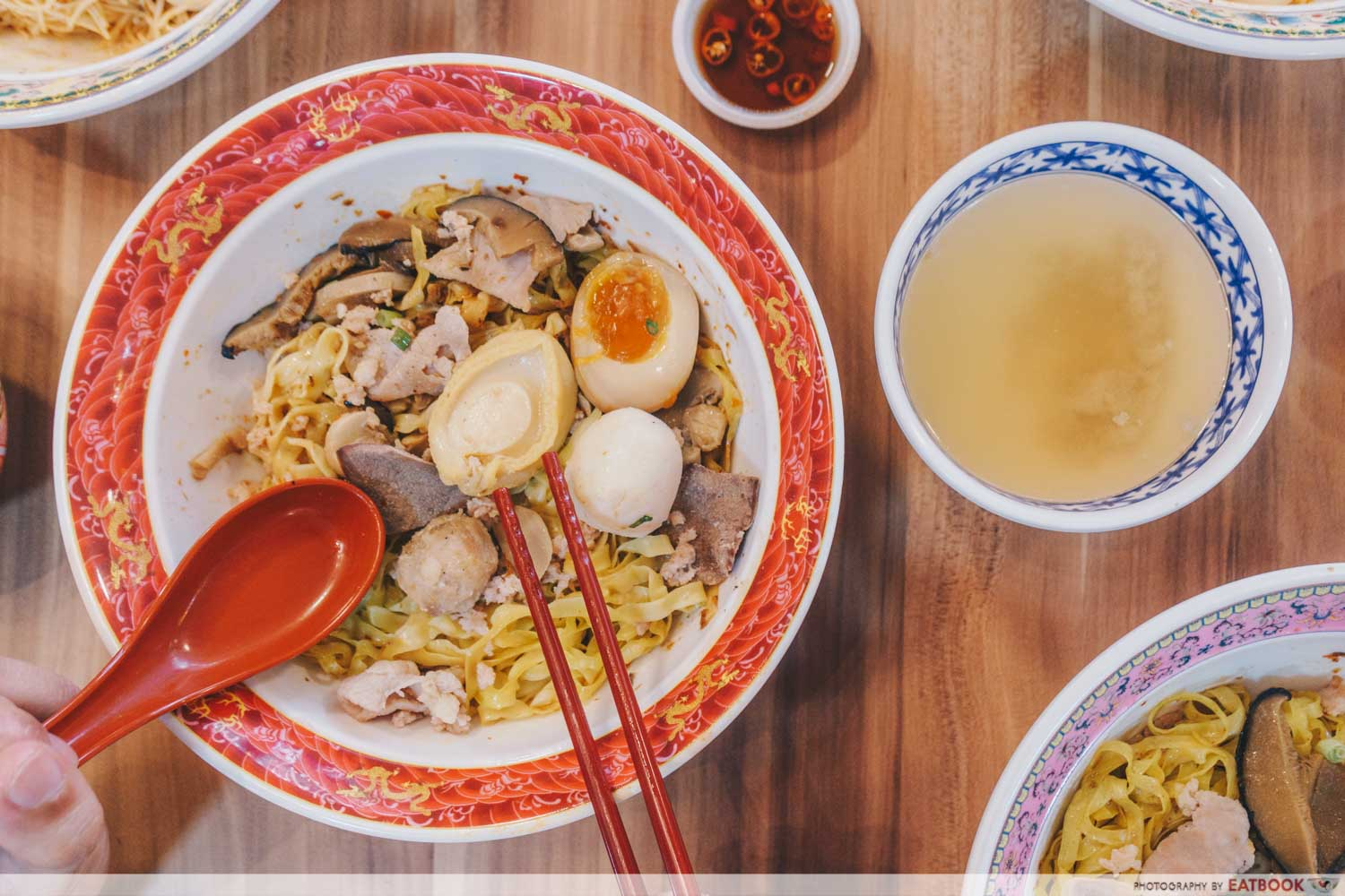 Gimee Face - abalone noodle