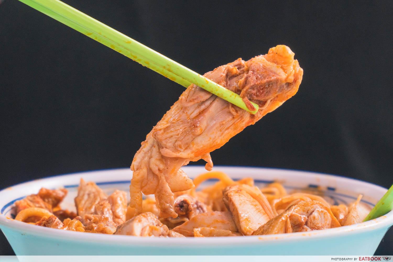 Heng Kee Curry Chicken Bee Hoon Mee - drumstick