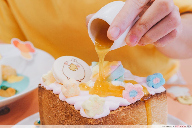 mango sauce shibuya toast