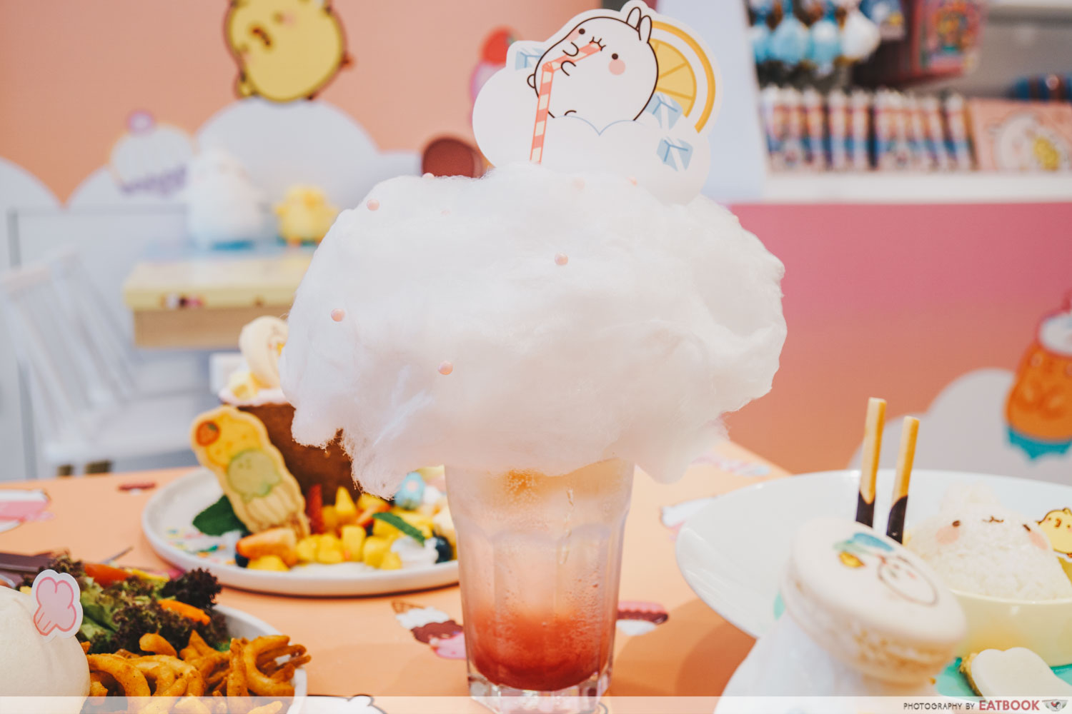 candy floss float lychee
