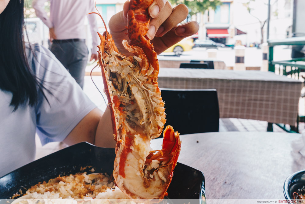 lobster 2 famous pao fan