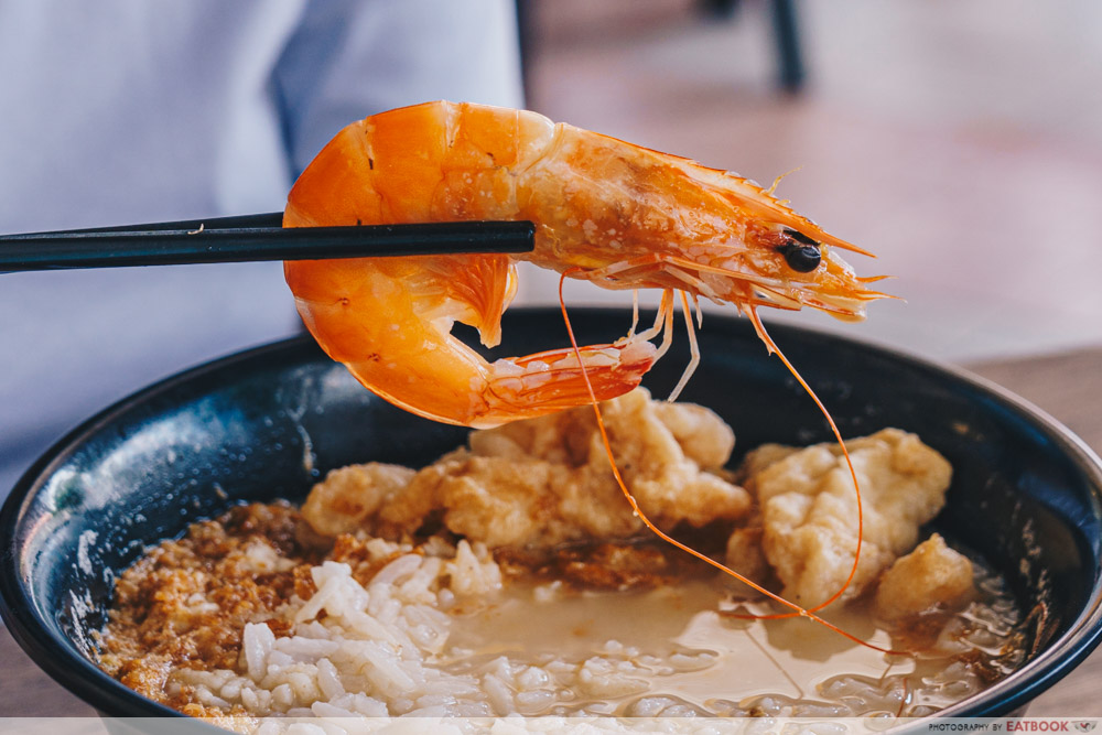 prawn at famous pao fan