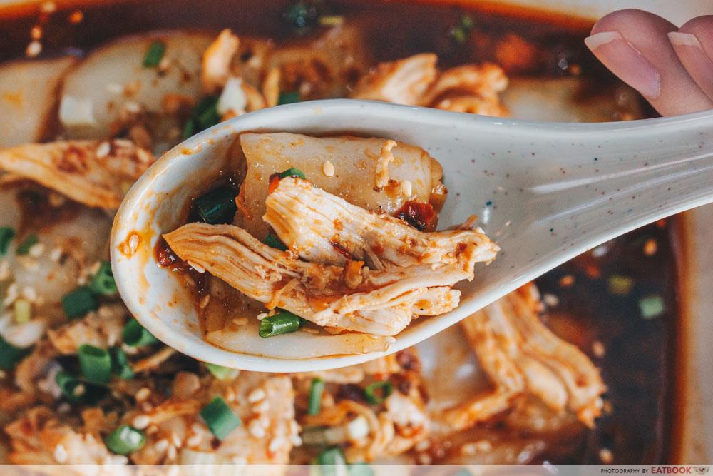 chicken happy congee