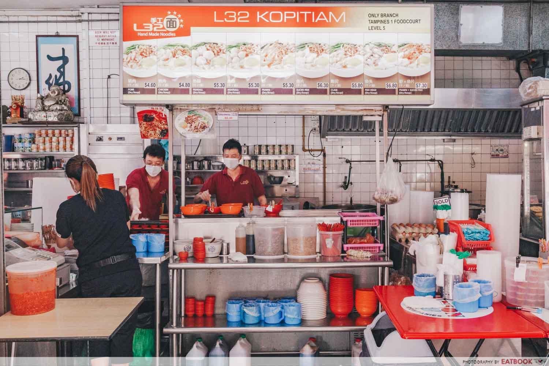 l32 handmade noodles storefront