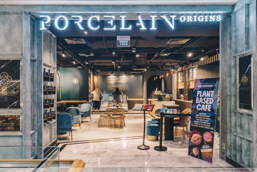 PORCELAIN CAFE STOREFRONT
