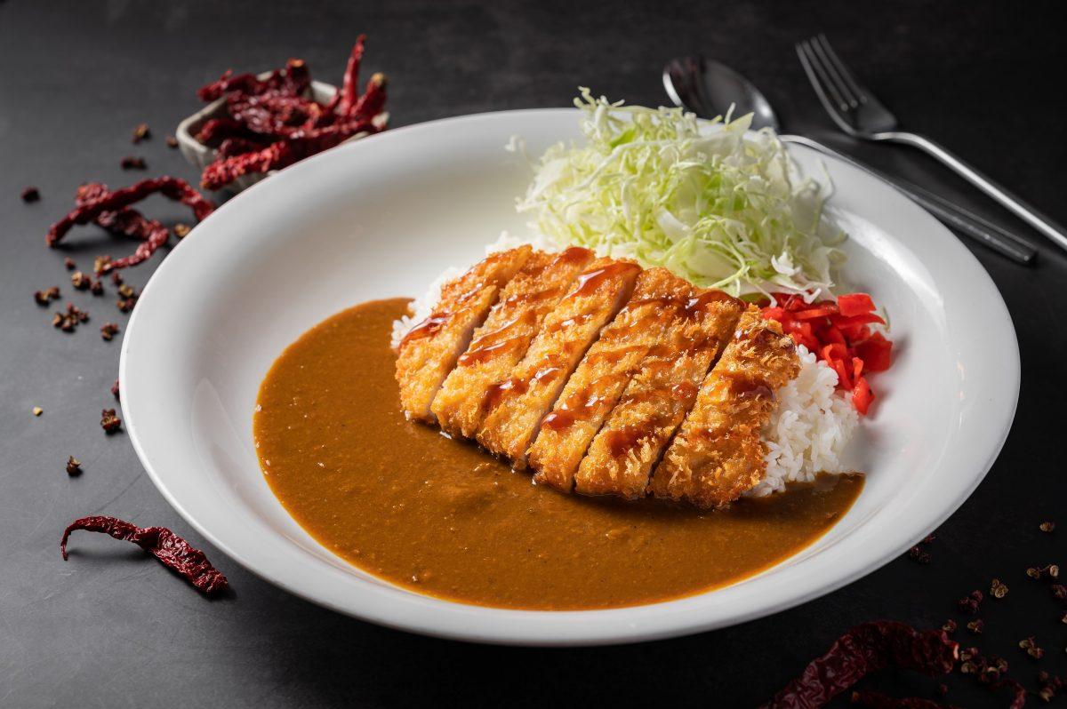 monster curry pork katsu mala