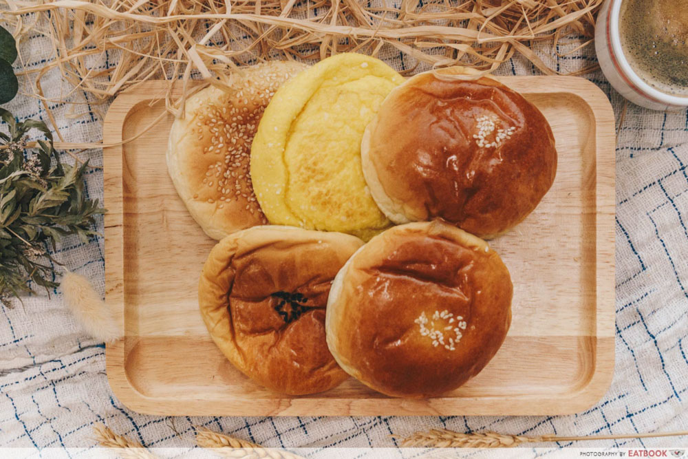Roti - Flat lay