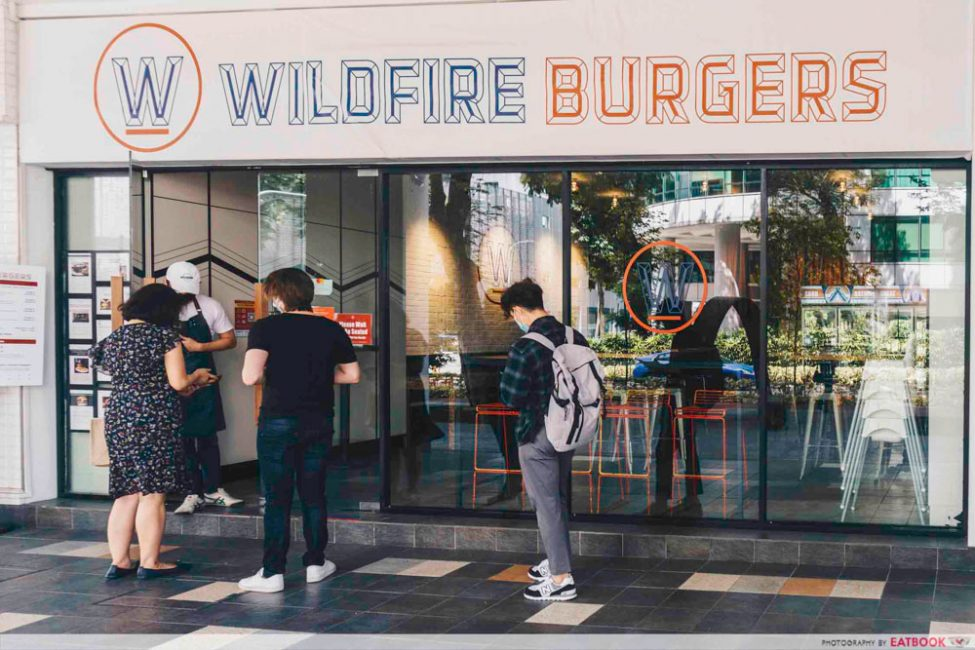 WILDFIRE BURGERS STOREFRONT