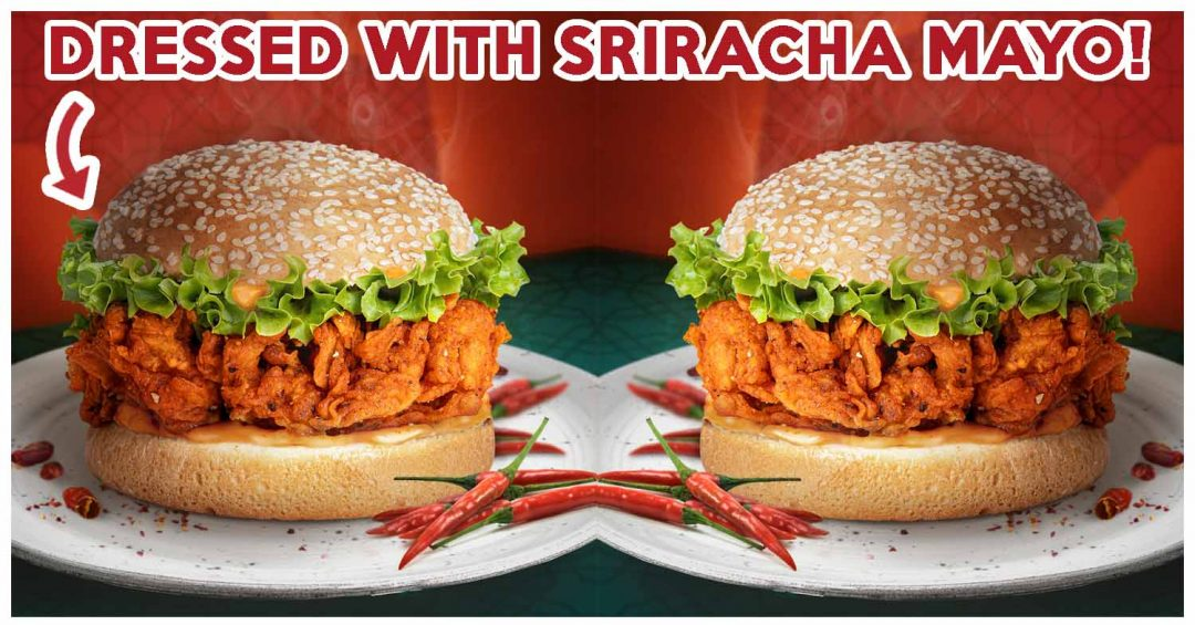 jollibee extra spicy chicken burger cover