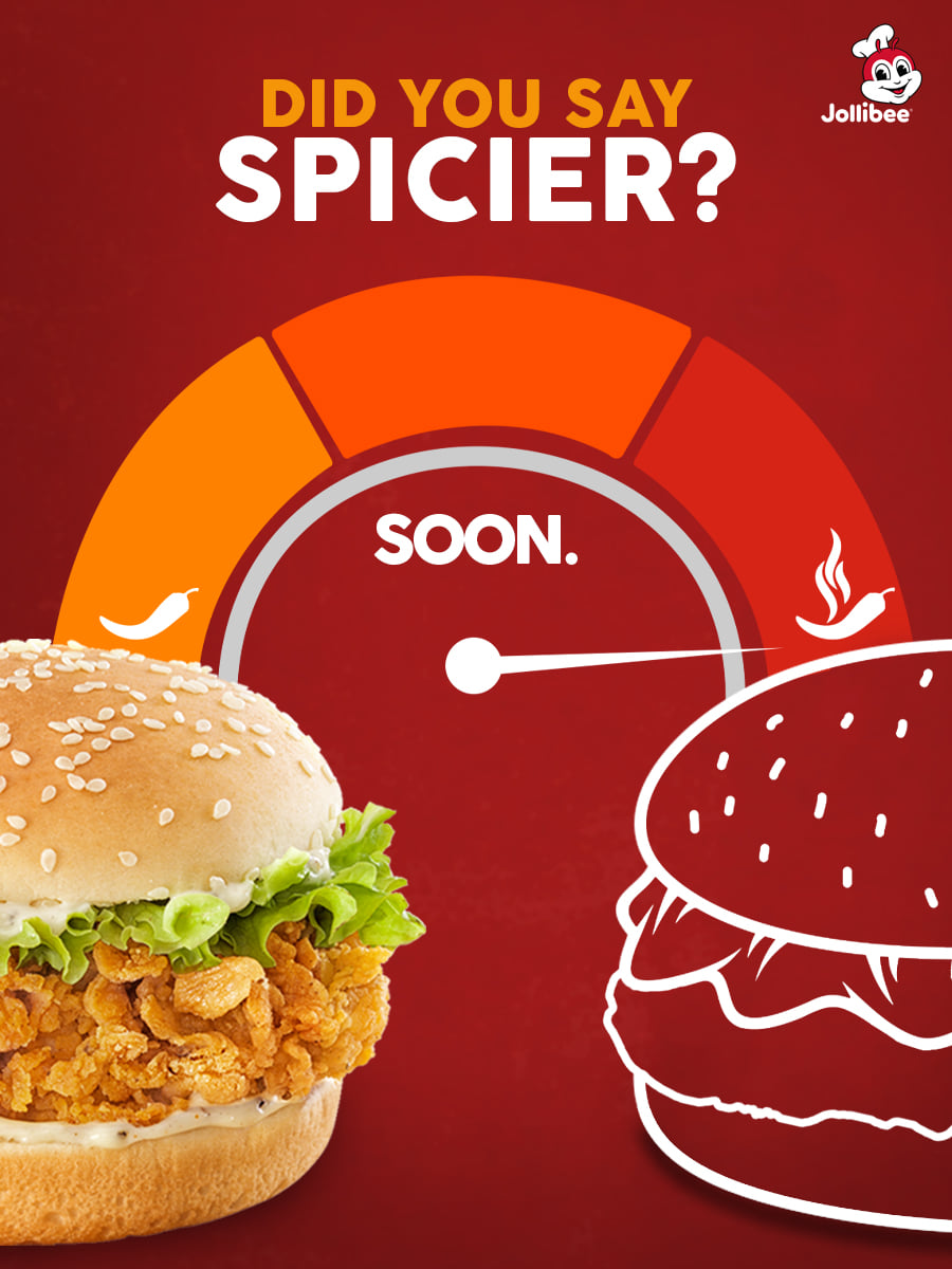 jollibee extra spicy chicken burger
