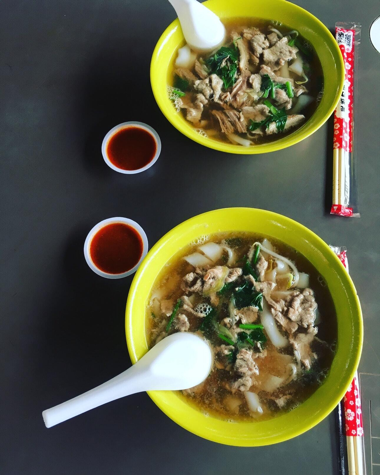 leng kee beef kway teow