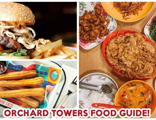 orchard towers food