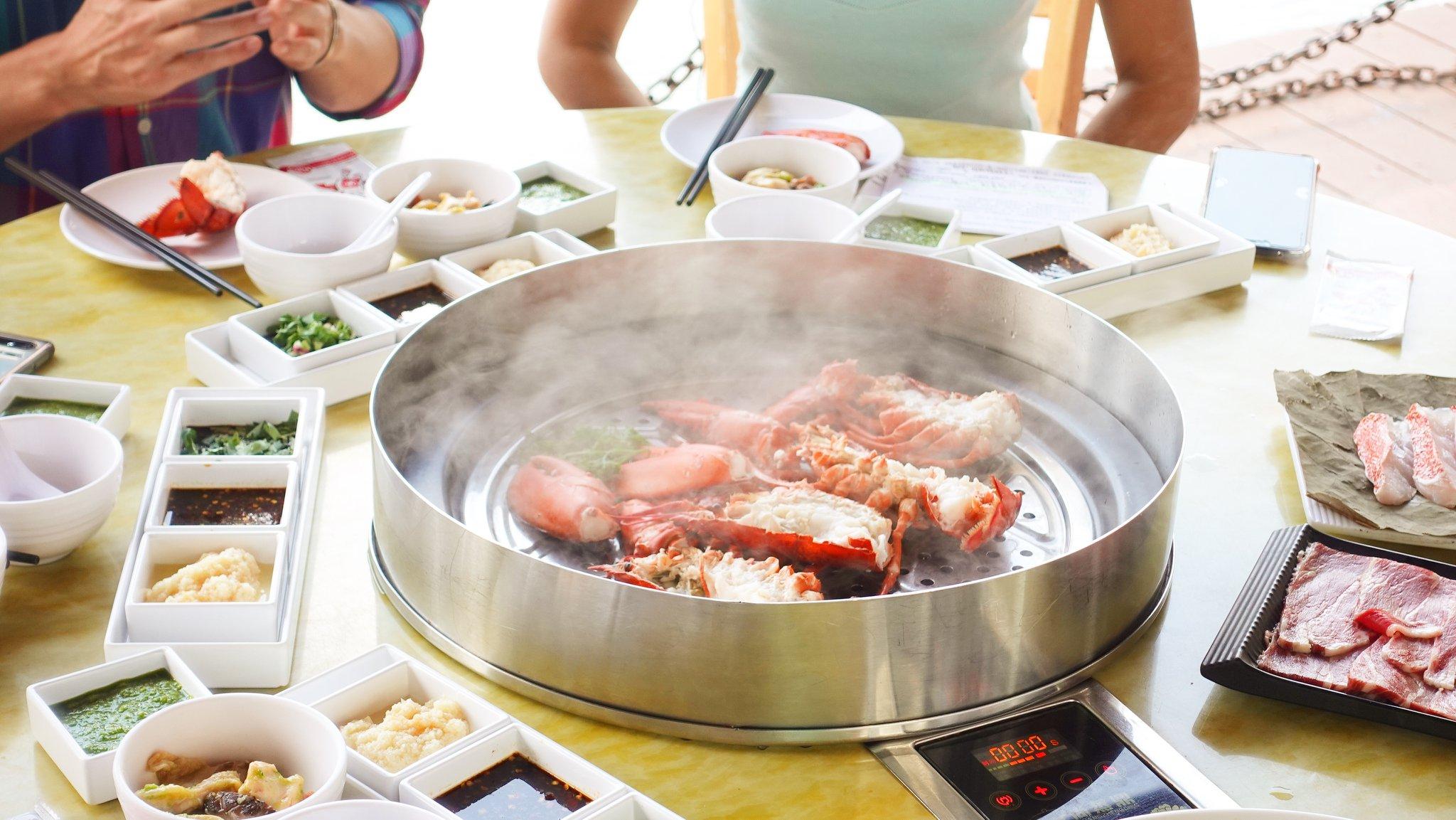 seafood at tian tian
