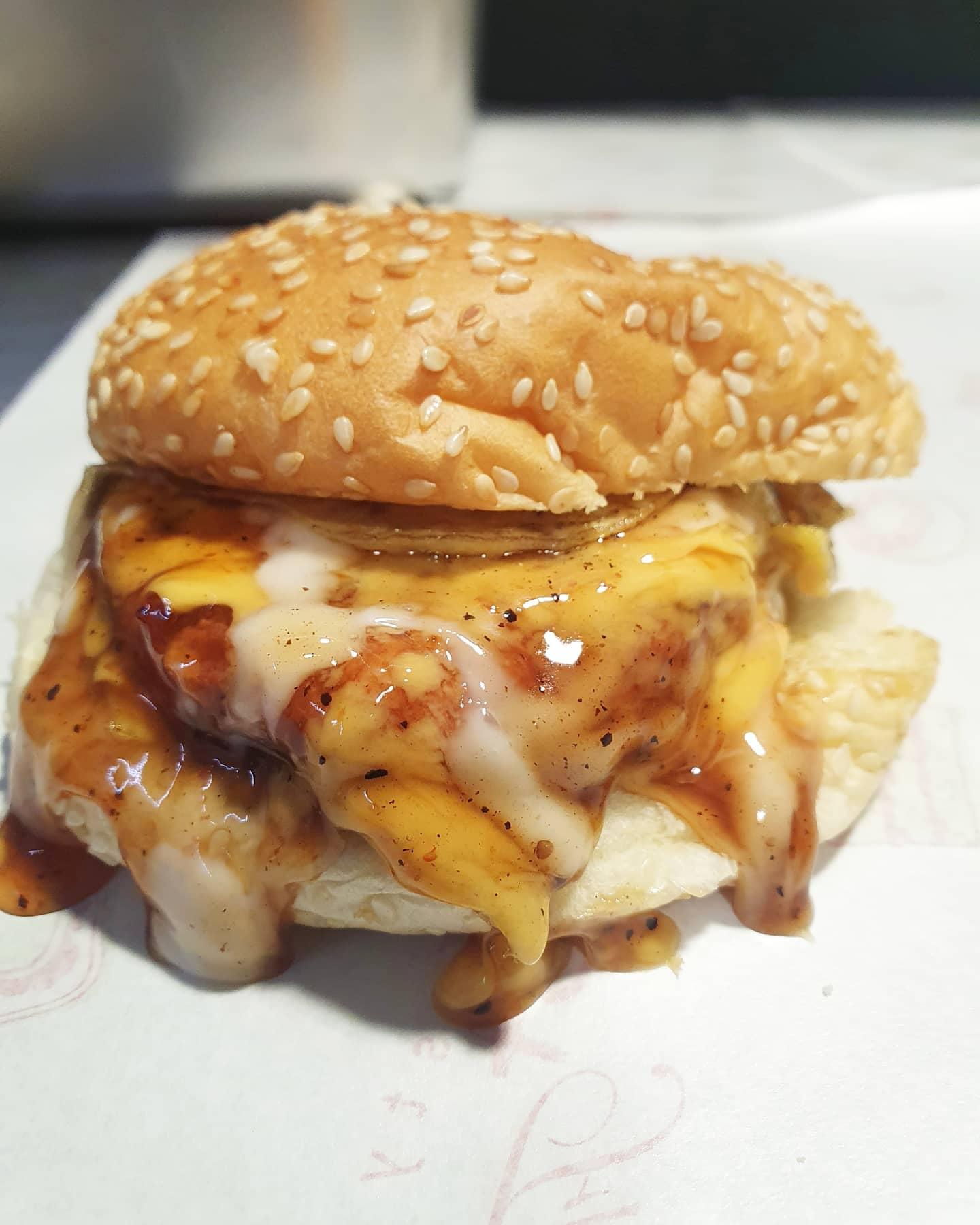 the original pisang keju ramly burger
