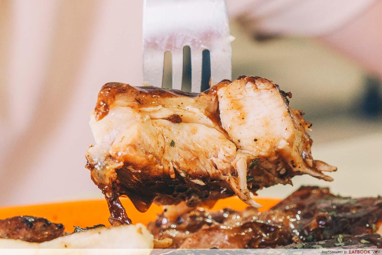 Brostern - bbq chicken close up