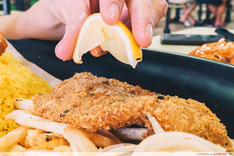 Brostern - fish lemon