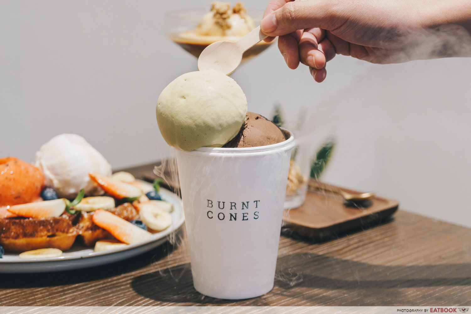Burnt Cones - gelato in the west