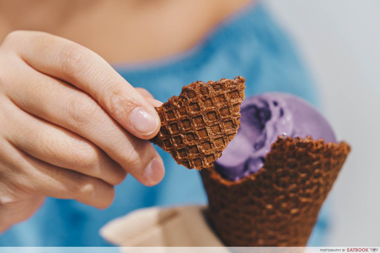Burnt Cones - waffle cones