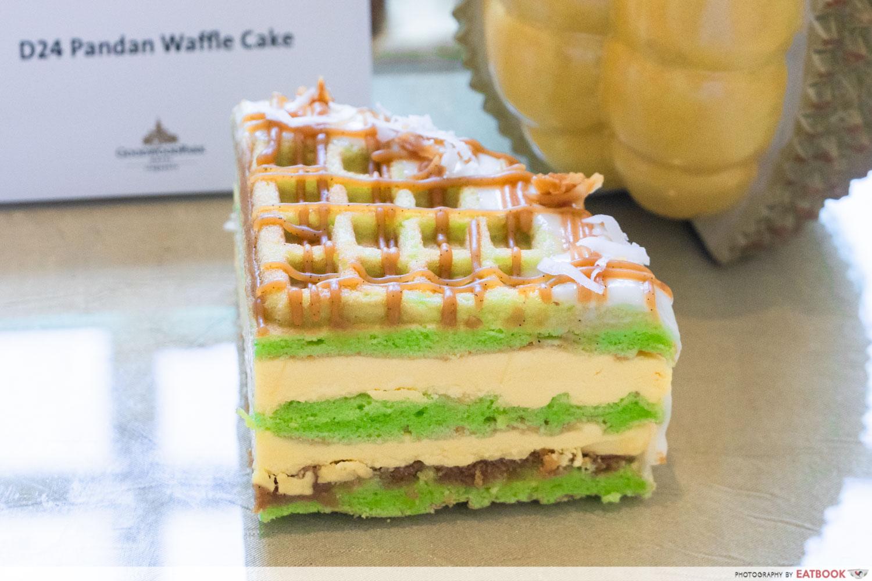 goodwood park durian fiesta waffle cake