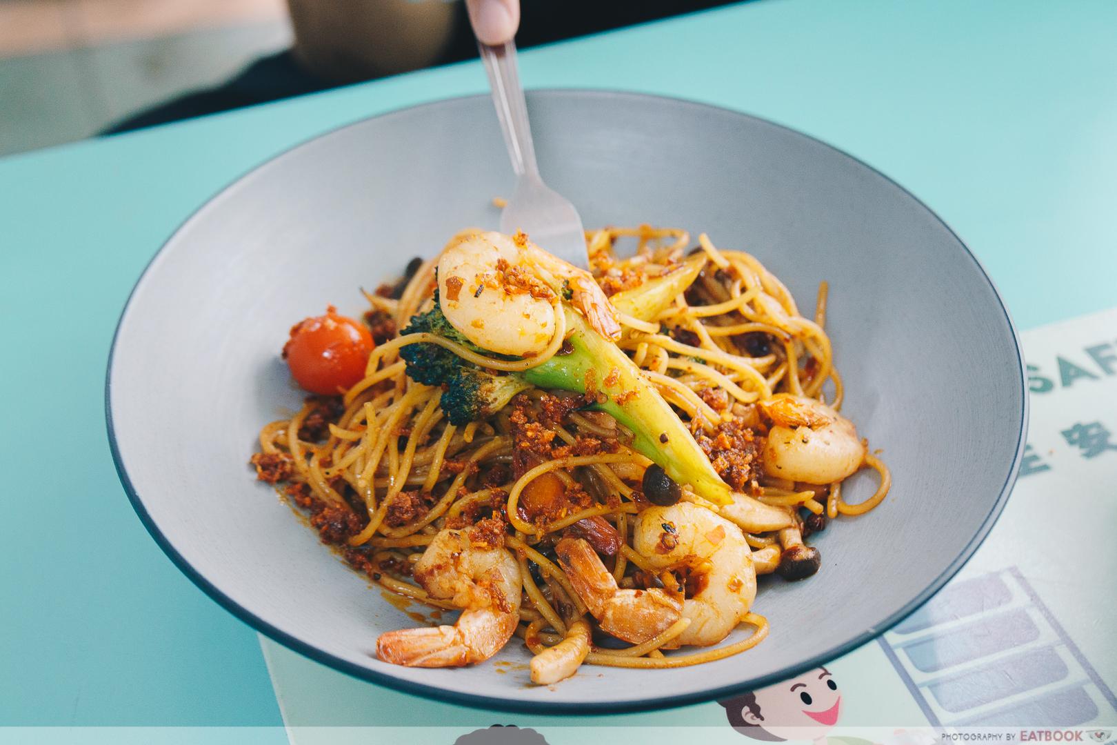 Eddy's No.1 - mala spaghetti