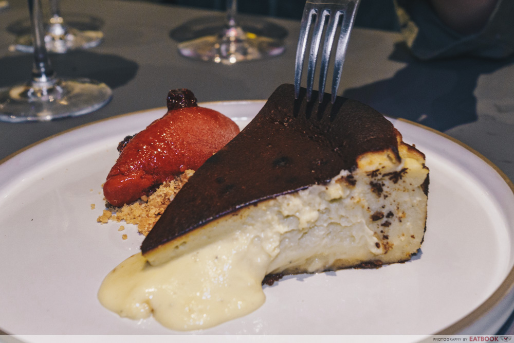 Fat Belly - blue cheesecake