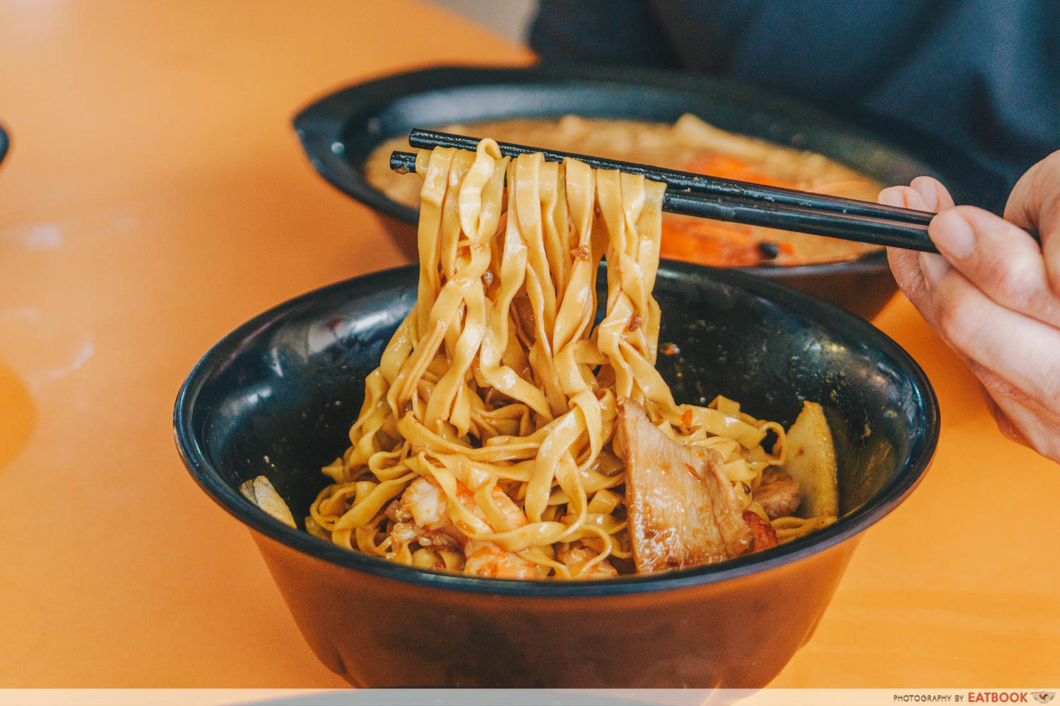 HeyMe - mee pok noodle pull