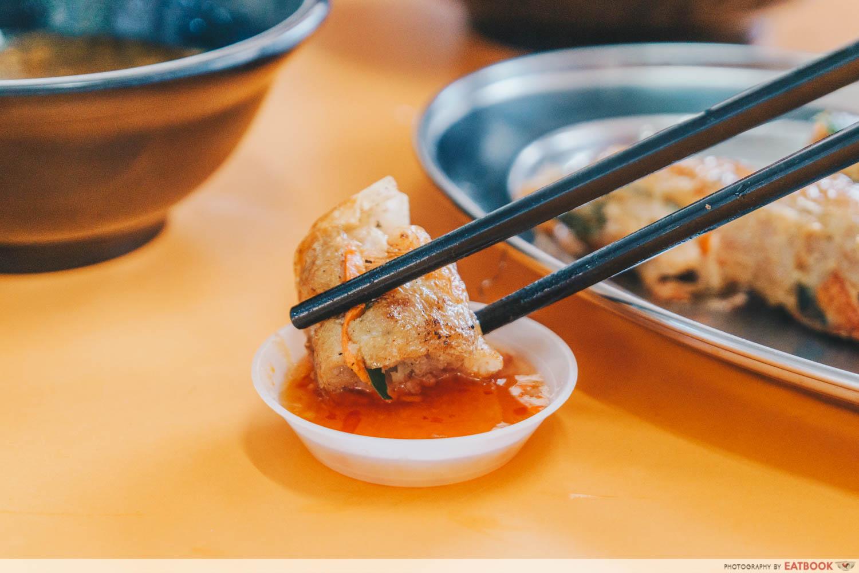 HeyMe - prawn rolls dipping
