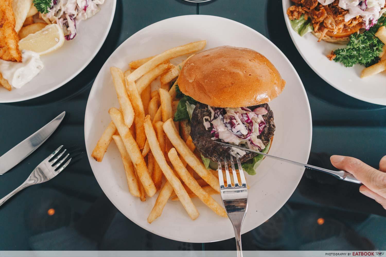 JOMO - angus beef burger