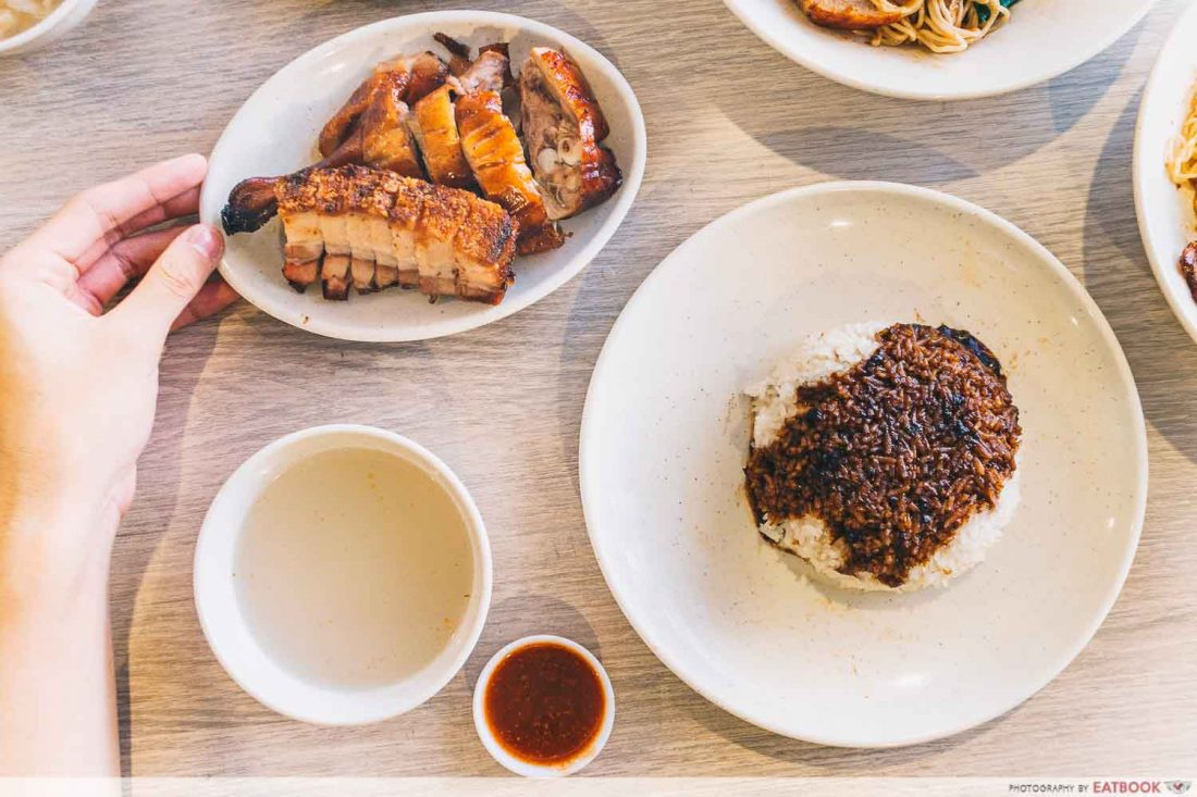 FU SHI ROAST DUCK RICE INTRO
