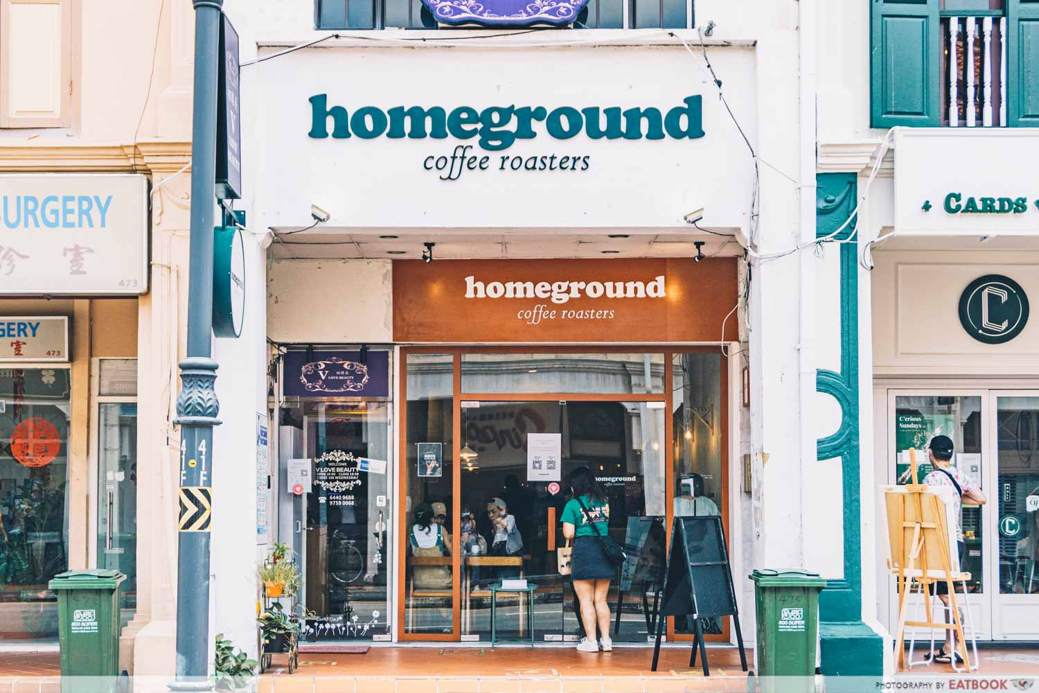 homeground coffee roasters at katong