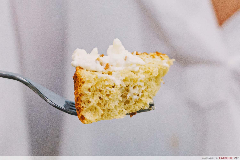 okada coffee and sweets pilow cake