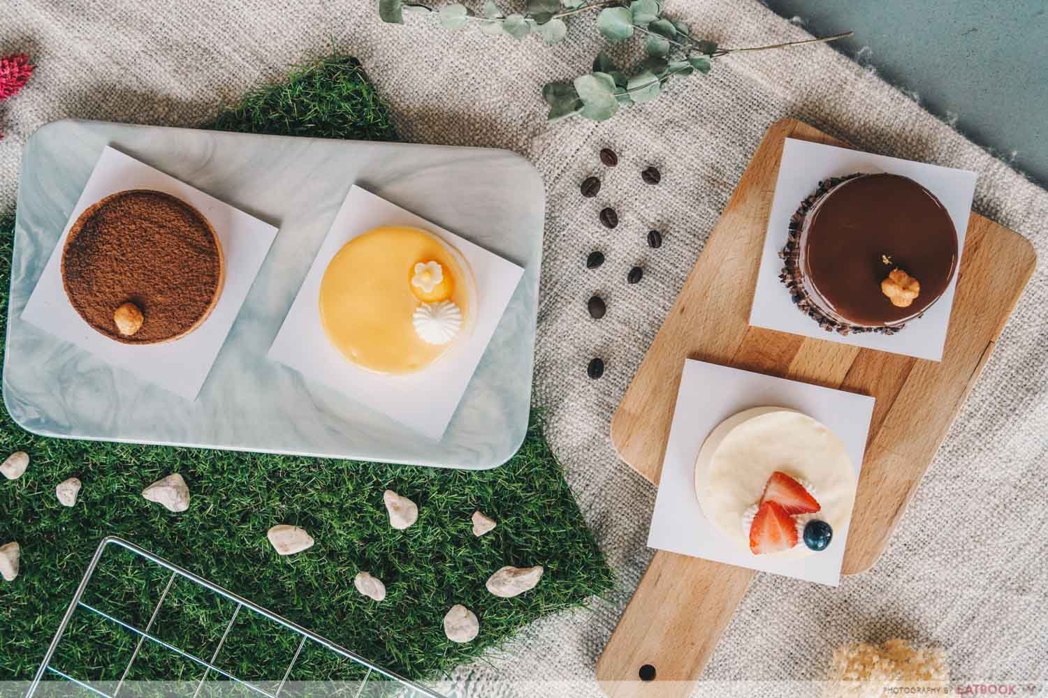 Patisserie Cle - Flat lay