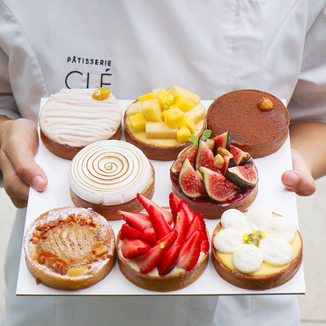 Patisserie Cle - tart selection