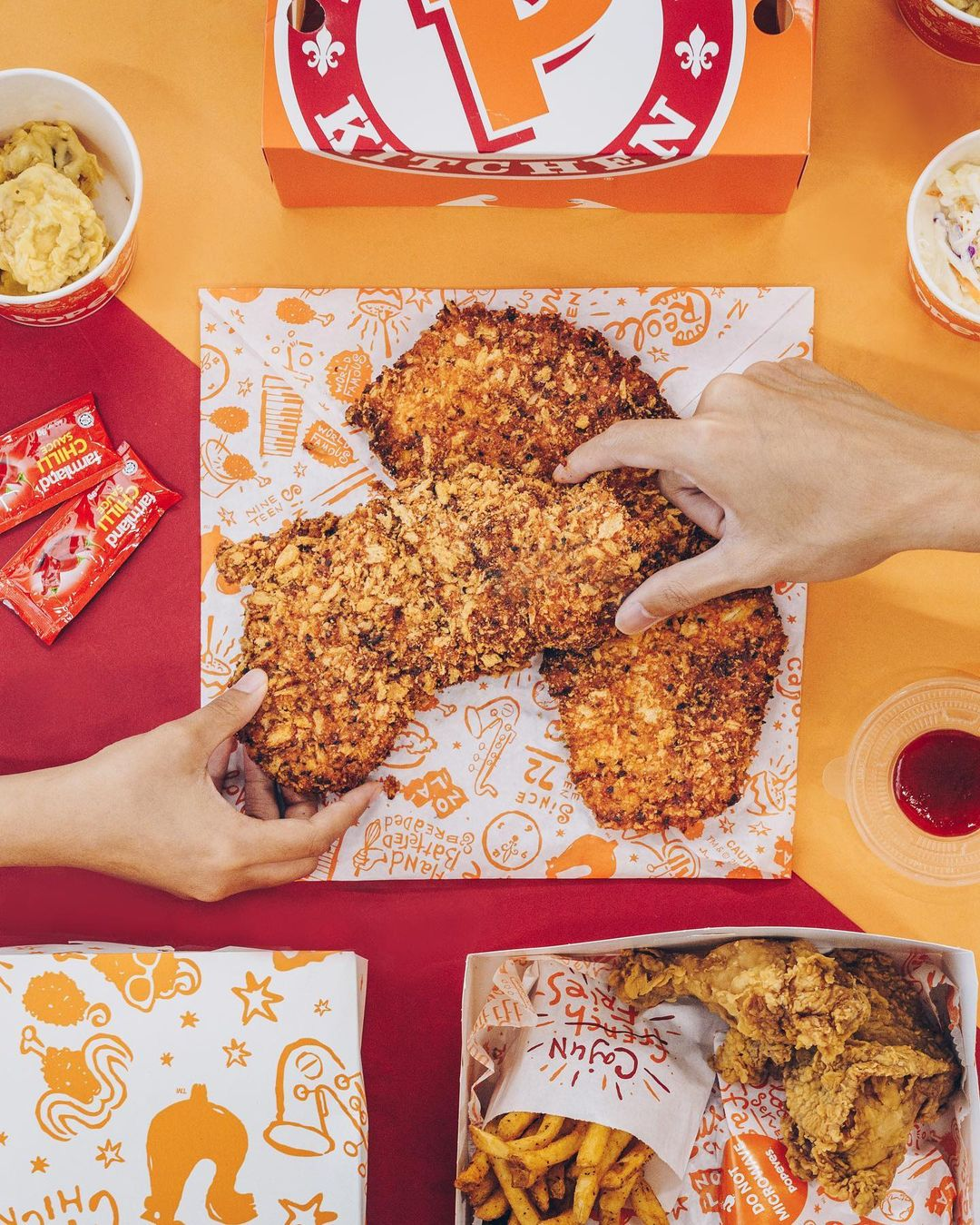 Popeyes Spicy XL Crispy Chicken Cutlet