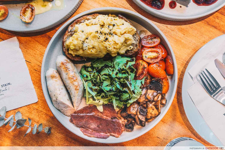 The Co-op - big breakfast