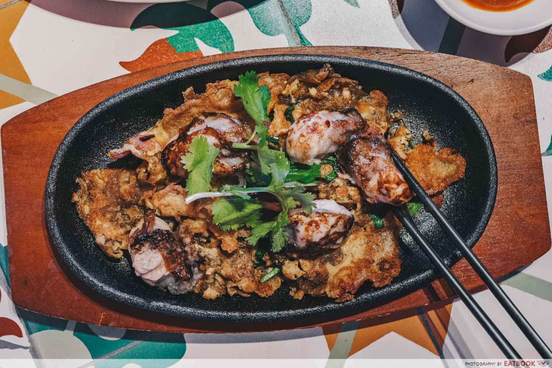 Yum Sing - oyser omelette intro