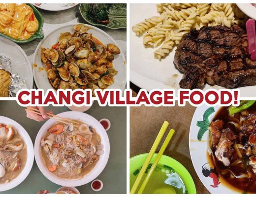 changi village food cover