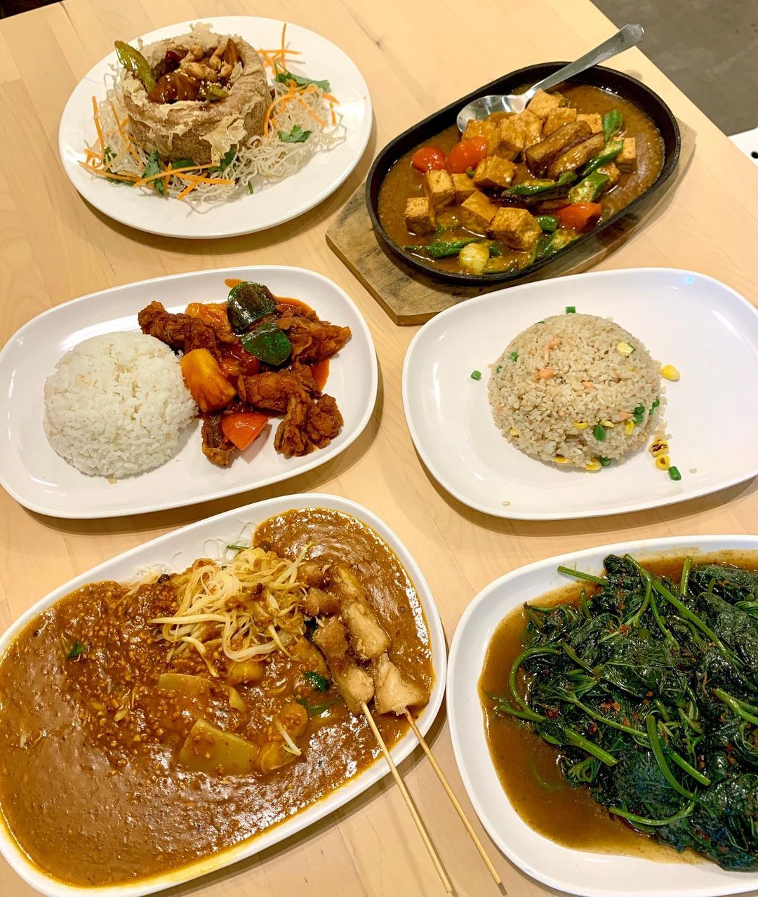 food in the woods vegetarian food singapore