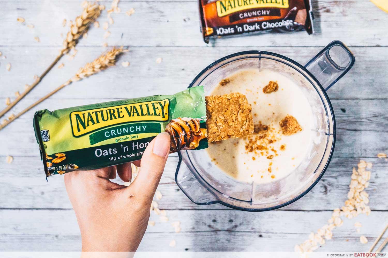 nature valley granola bars smoothie