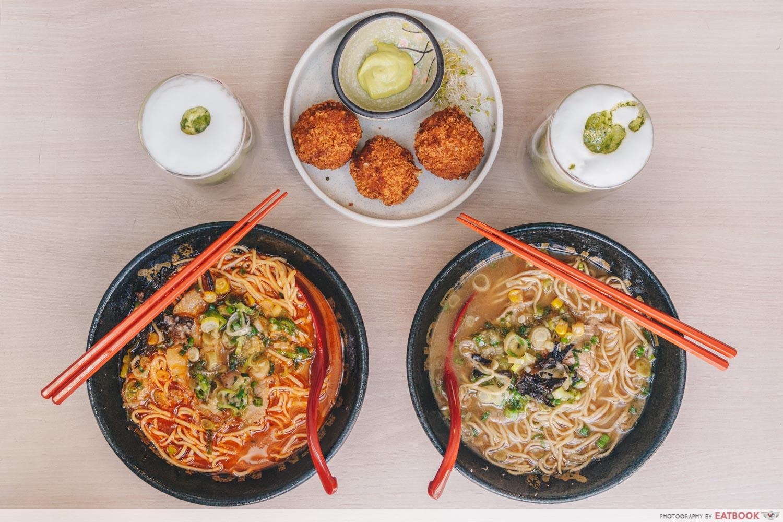 menbaka ramen new restaurants april 2021